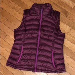 Prada puffer vest top shirt